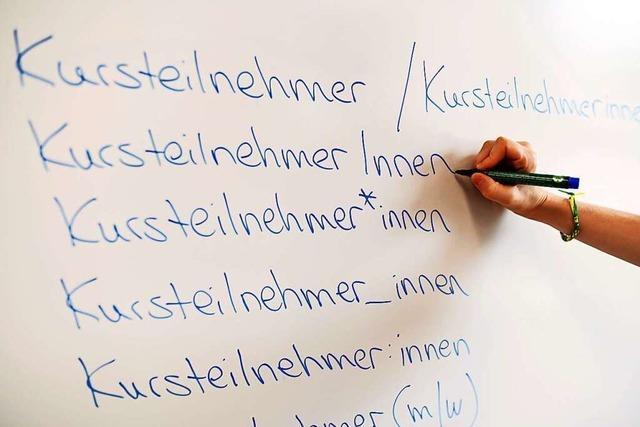 Wie Lahrer und Ortenauer Behörden und Firmen im Arbeitsalltag gendern