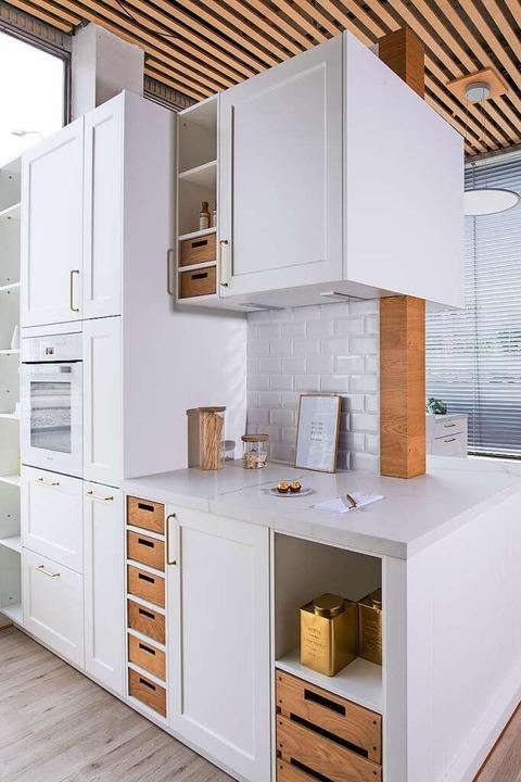 Die Herbstneuheiten im Küchenbereich zeigt Ü-Küchen bei der Hausmesse.  | Foto: Ü-Küchen