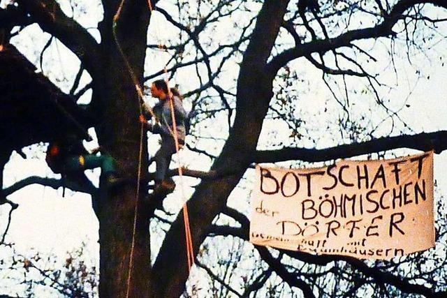 Eine neue Doku zeigt Deutschlands erste Baumbesetzung und der Protest gegen die B 31-Ost