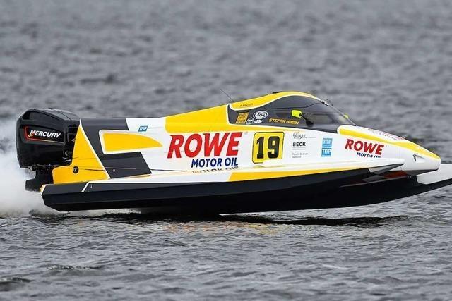 Stefan Hagin ist seit Jahren eine internationale Größe im Motorbootsport