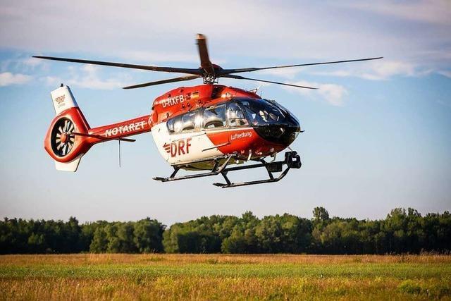 Zwei Schwerverletzte bei Unfall auf B 317 in Höhe Maulburg