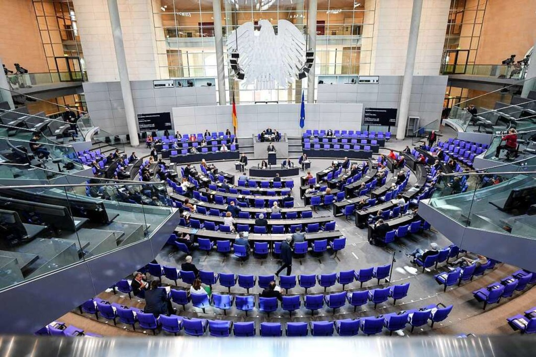 Das Ziel  der Kandidaten im Wahlkreis 288 (Waldshut): ein Sitz im Bundestag    Foto: Britta Pedersen (dpa)