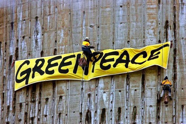 Was macht Greenpeace?