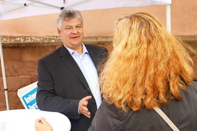Thomas Seitz (AfD) wird entweder beschimpft oder gewählt