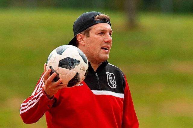 Fabian Kanefeyer ist beim FC Lenzkirch mehr Kumpel als Chef