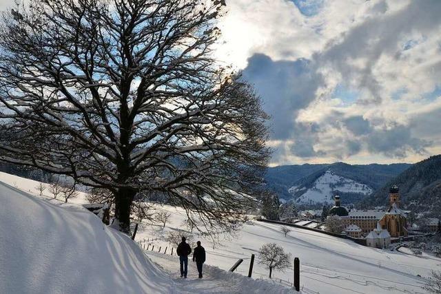 Der Talweg führt ohne große Steigungen durch das Münstertal und bietet herrliche Ausblicke