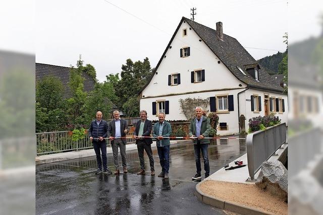 Neue Sulzburger Brücke kostete deutlich weniger