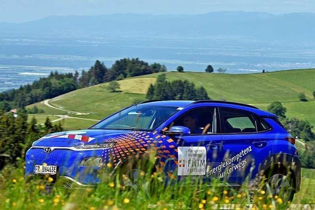 24-Stunden-Rennen für E-Autos führt von Freiburg auf den Schauinsland