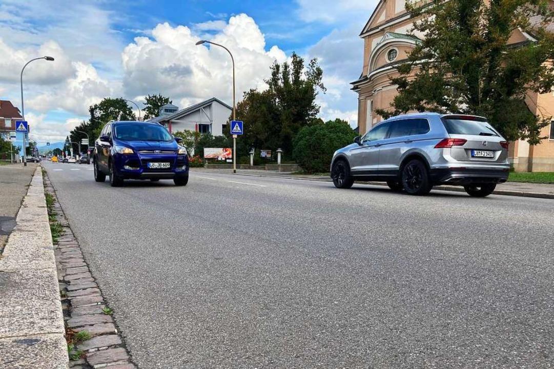 Auf der Friedrichstraße haben sich die... Fahrer 2019 ein Autorennen geliefert.    Foto: Dora Schöls