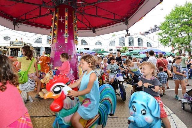An Freiburgs altem Straßenbahndepot gibt's ein dreitägiges Feuerwehrfest