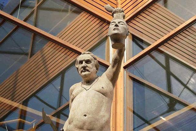 Als zwei nackte Statuen in Waldkirch für Aufsehen sorgten