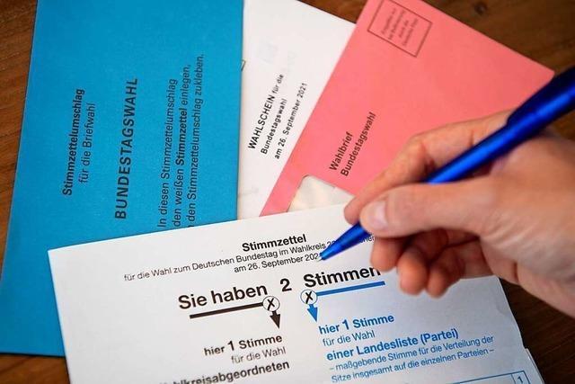 Auch die kleineren Parteien wollen ihre Chance bei der Bundestagswahl nutzen