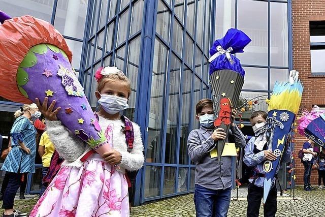 Die Einschulungsfeiern an Freiburger Schulen fallen kleiner aus