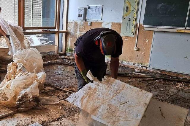 Beim Wiederaufbau im Ahrtal zählt noch immer jede helfende Hand