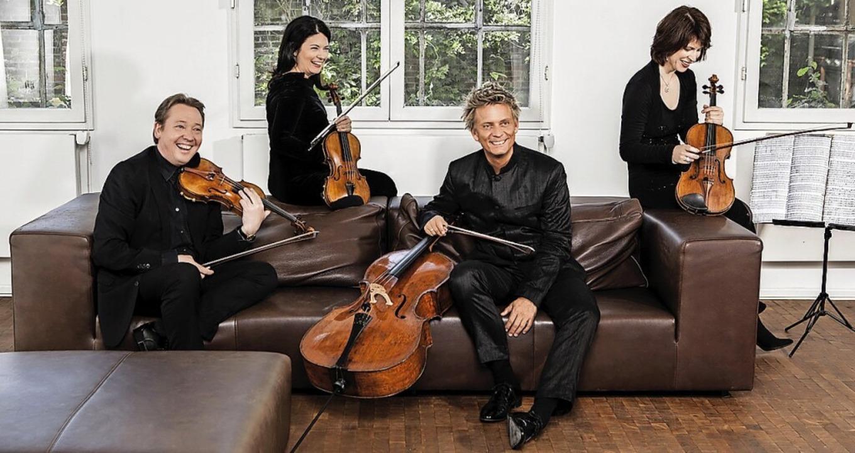 Das Minguet Quartett (Bild) wird zusam...n Alt-Weil und Grenzach zu hören sein.  | Foto: Frank Rossbach