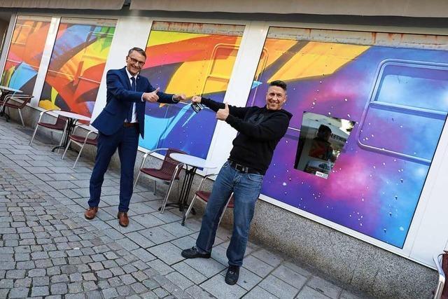 Street Art in der Lahrer Innenstadt
