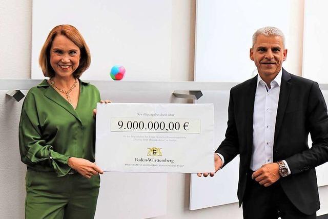 Baden-Württemberg fördert neue Blasmusikakademie in Staufen mit neun Millionen Euro