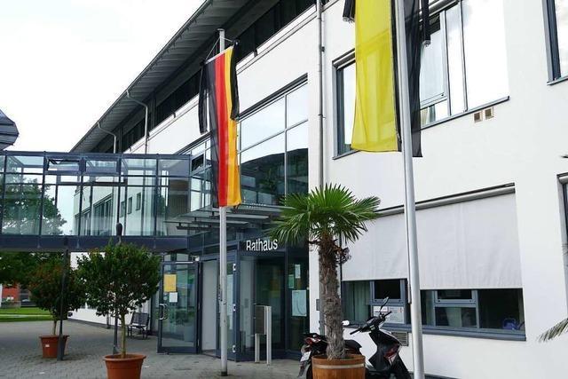 Im Rathaus Efringen-Kirchen gibt es keinen Corona-Rückstau