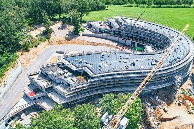 Kosten für neues Wellnesshotel Luisenhöhe in Horben steigen weiter