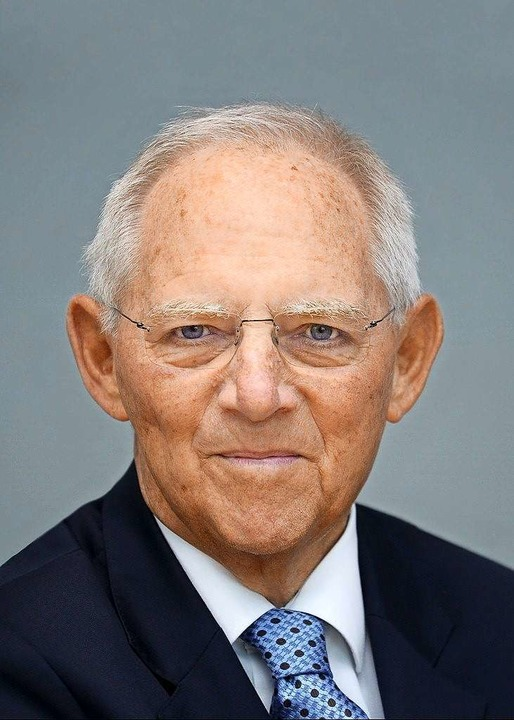 Wolfgang Schäuble    Foto: Deutscher Bundestag/Achim Melde