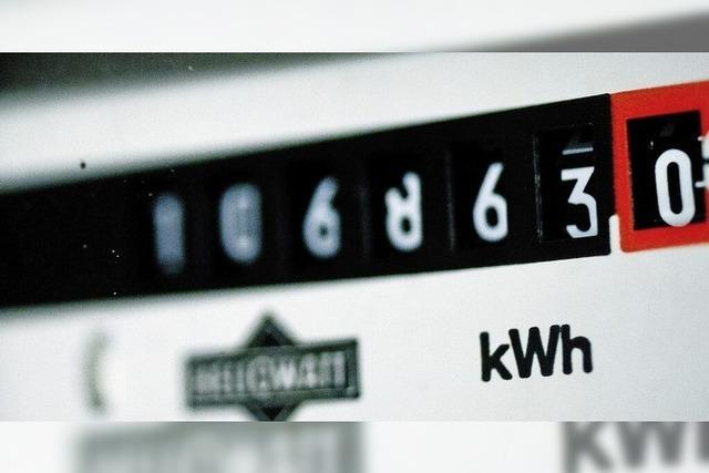 Weniger Strom und Wärme verbraucht