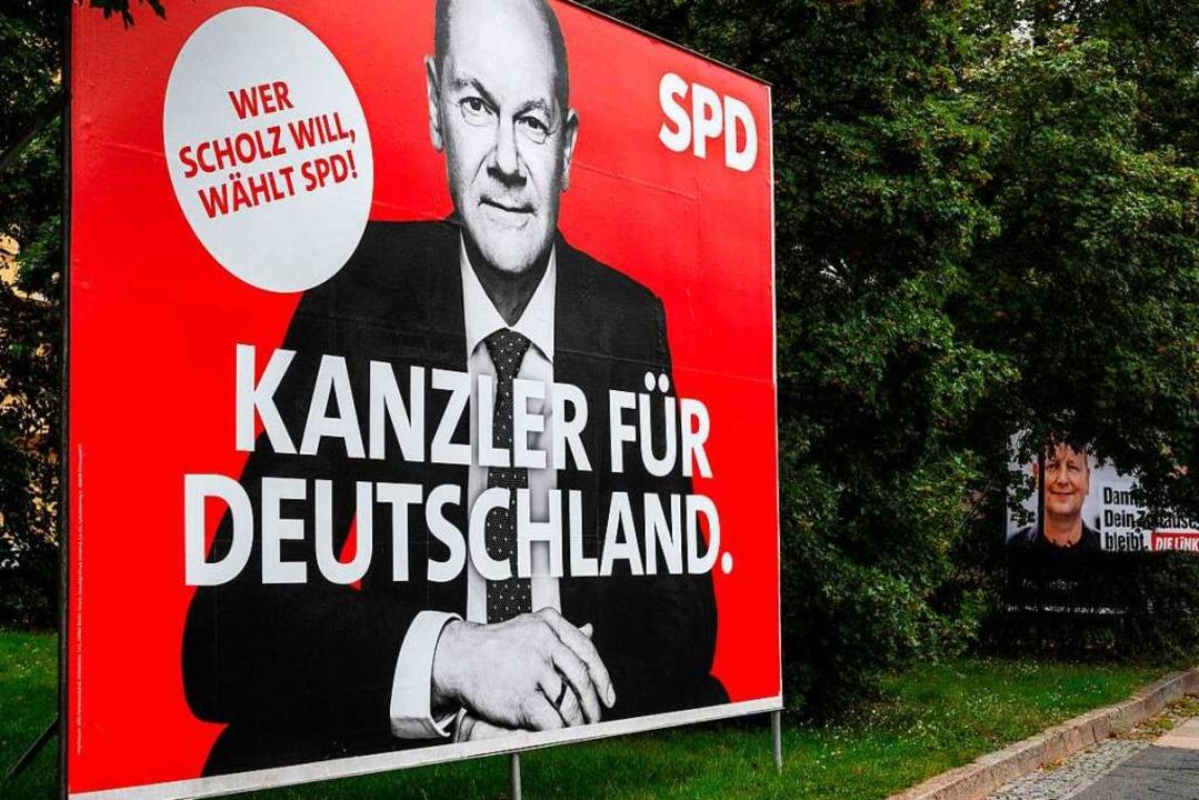 Reicht es am Ende für die Kanzlerschaft?  | Foto: JOHN MACDOUGALL (AFP)