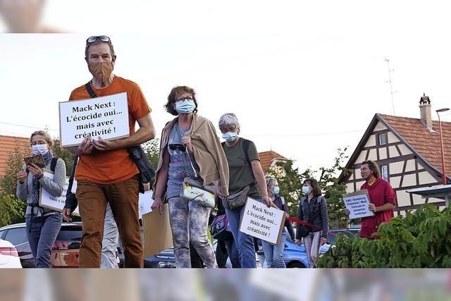 Demonstration in Plobsheim