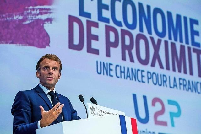 Macron schüttet das Füllhorn aus