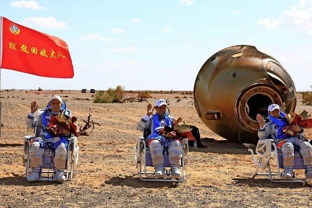 Rekord für chinesische Astronauten