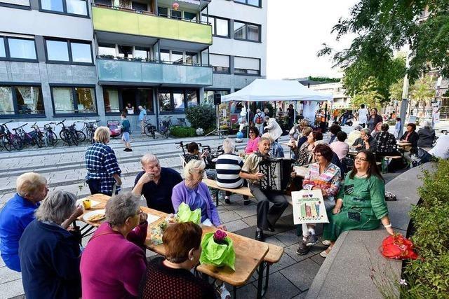 Freiburg-Weingarten hatte wieder etwas zu feiern: ein ganz besonderes Hochhaus