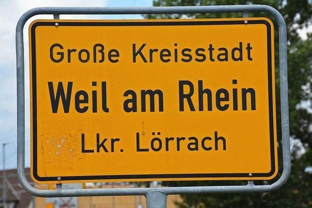 Weil am Rhein hätte auch Weil am Teich heißen können