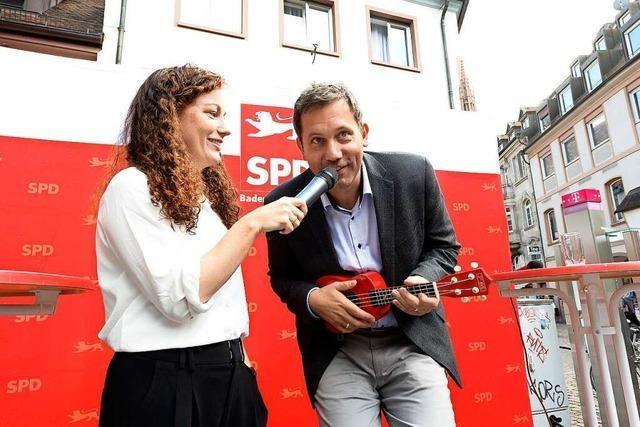 SPD-Kandidatin Julia Söhne kämpft für das Direktmandat in Freiburg