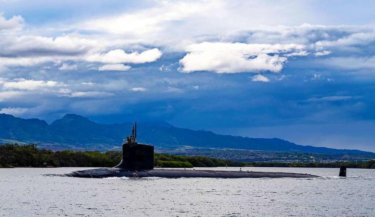 Ein U-Boot der US Navy. Mit einem neue...en mit Nuklearantrieb zu unterstützen.  | Foto: Chief Petty Officer Amanda Gray (dpa)