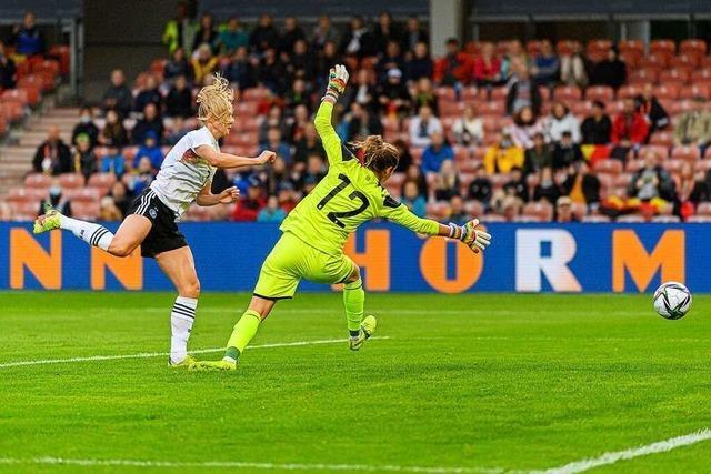 Mit dem 7:0-Sieg gegen Bulgarien ist der Konkurrenzkampf bei den DFB-Frauen eröffnet