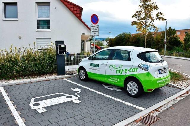 In Rheinfelden und Grenzach-Wyhlen setzen immer mehr Menschen auf E-Autos