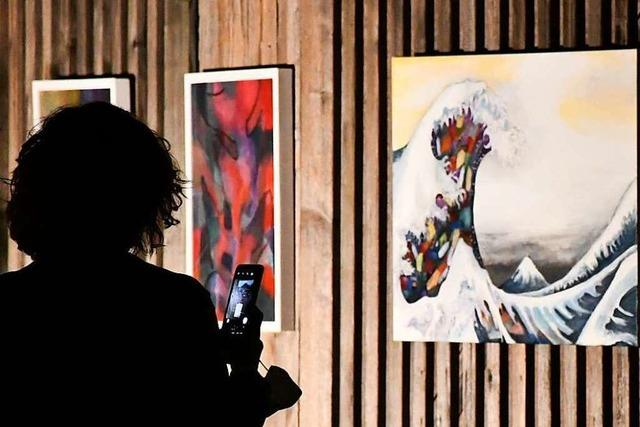 Fotos: Lörracher Künstler präsentieren sich bei der Nacht der Offenen Ateliers