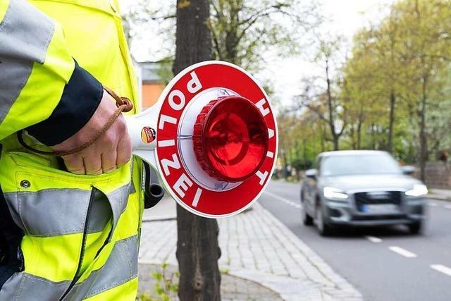Großeinsatz des Polizeipräsidiums Offenburg deckt 325 Verstöße auf