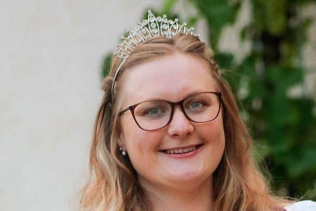 Die Kippenheimer Weinkönigin Laura Lang hoffe nach den Absagen auf ein Weinfest 2022