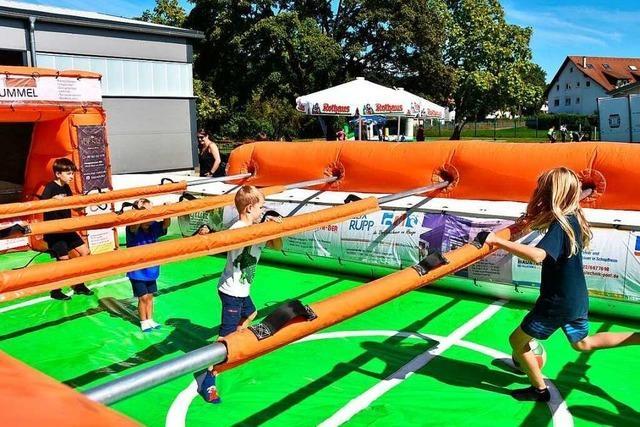 Spiel und Spaß beim Sommerfest des Turnerbunds Wyhlen