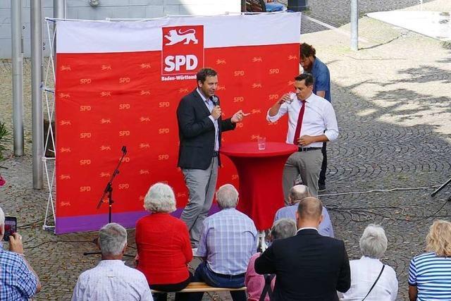 SPD-Generalsekretär sieht noch keinen Grund, zu feiern