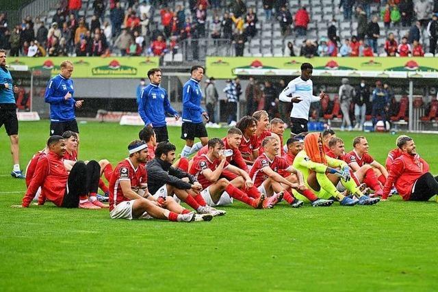 Effizient bei Schmuddelwetter – SC Freiburg II feiert dritten Saisonsieg in Liga drei