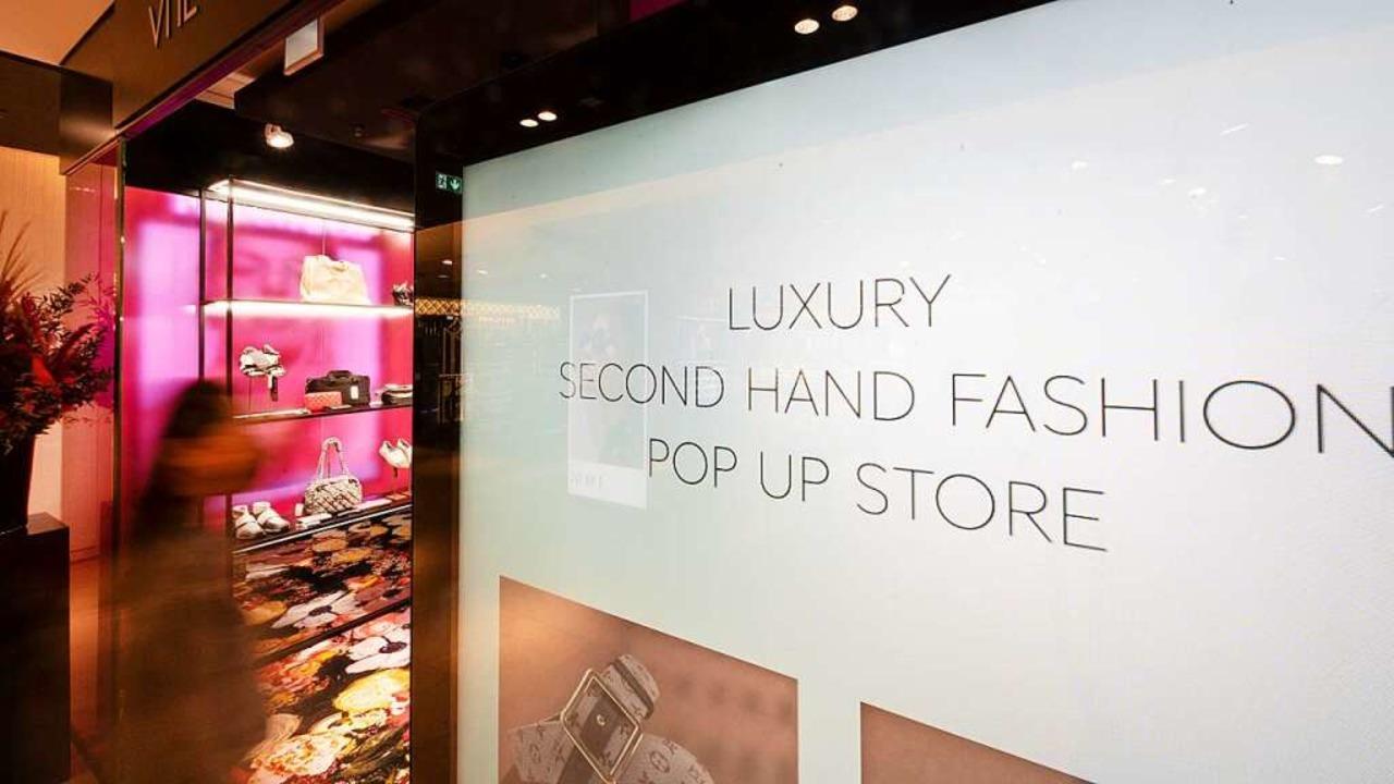 Ein Secondhand-Store bei Breuninger  | Foto: Bernd Weissbrod