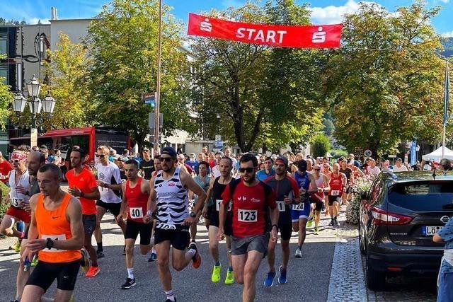 150 Teilnehmende starteten beim Belchenlauf