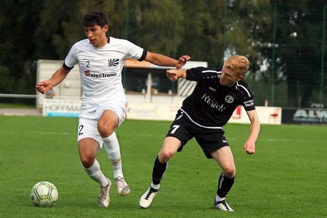 FC 08 Villingen II ist in Offenburg überfordert