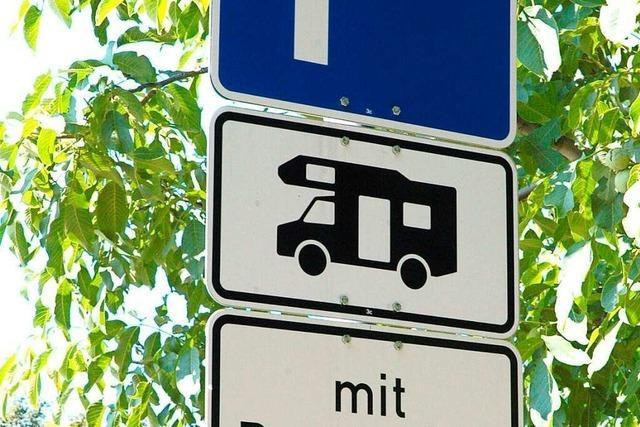 Zehn Euro pro Nacht für für Wohnmobile in Waldkirch?