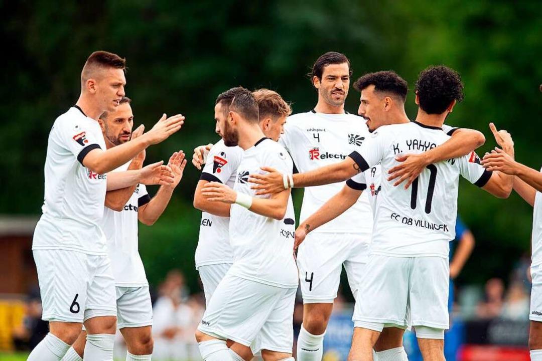 Jubel blieb bei den Kickern des FC 08 Villingen am Wochenende aus.  | Foto: Wolfgang Scheu