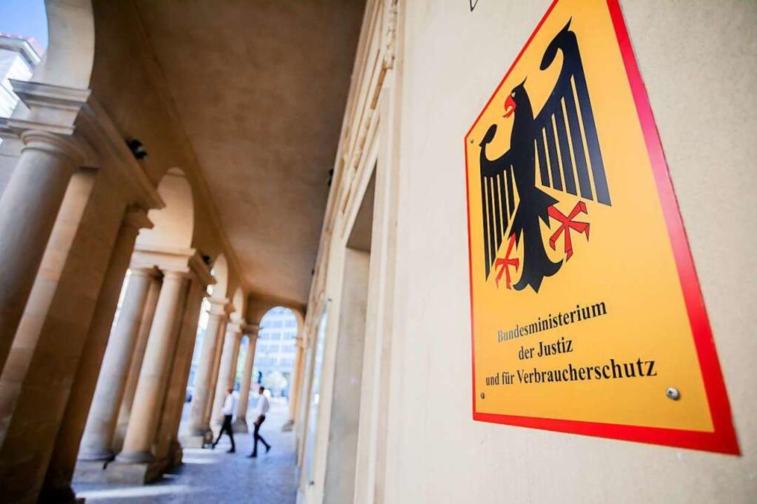 Das Bundesministerium der Justiz und für Verbraucherschutz.    Foto: Christoph Soeder (dpa)