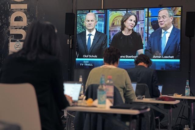 Live-Ticker zum Nachlesen: So war das dritte TV-Triell