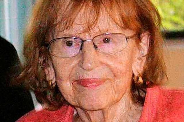 Geschichte der Region ist ihre Leidenschaft – Renate Reimann wird 90 Jahre alt