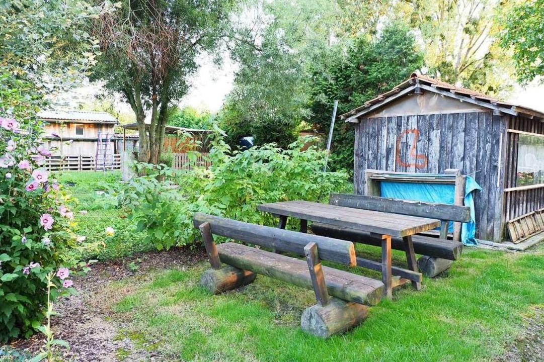 Kleingartenanlagen im Kreis wie hier i...enommen wegen baurechtlicher Probleme.  | Foto: Michael Haberer